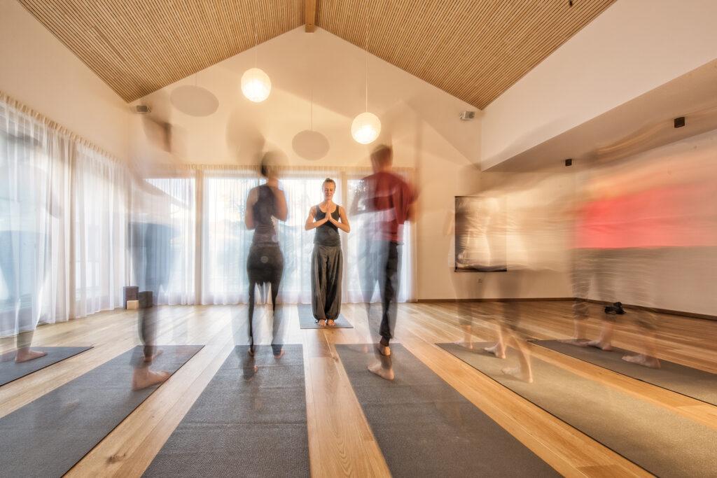 Yoga Raum Saalerwirt